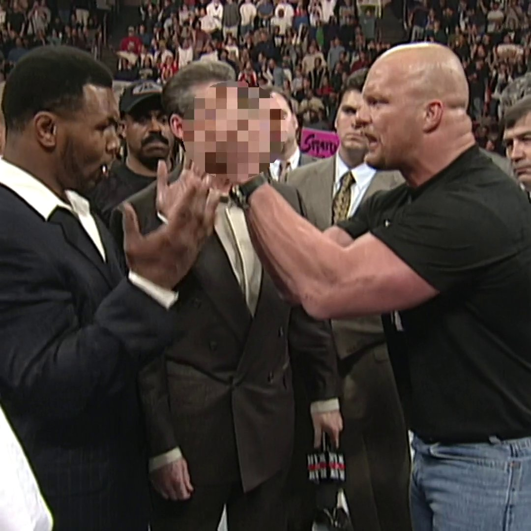 One of my favorite segments ever   #SteveAustin #MikeTyson #WWE #WrestlingCommunity