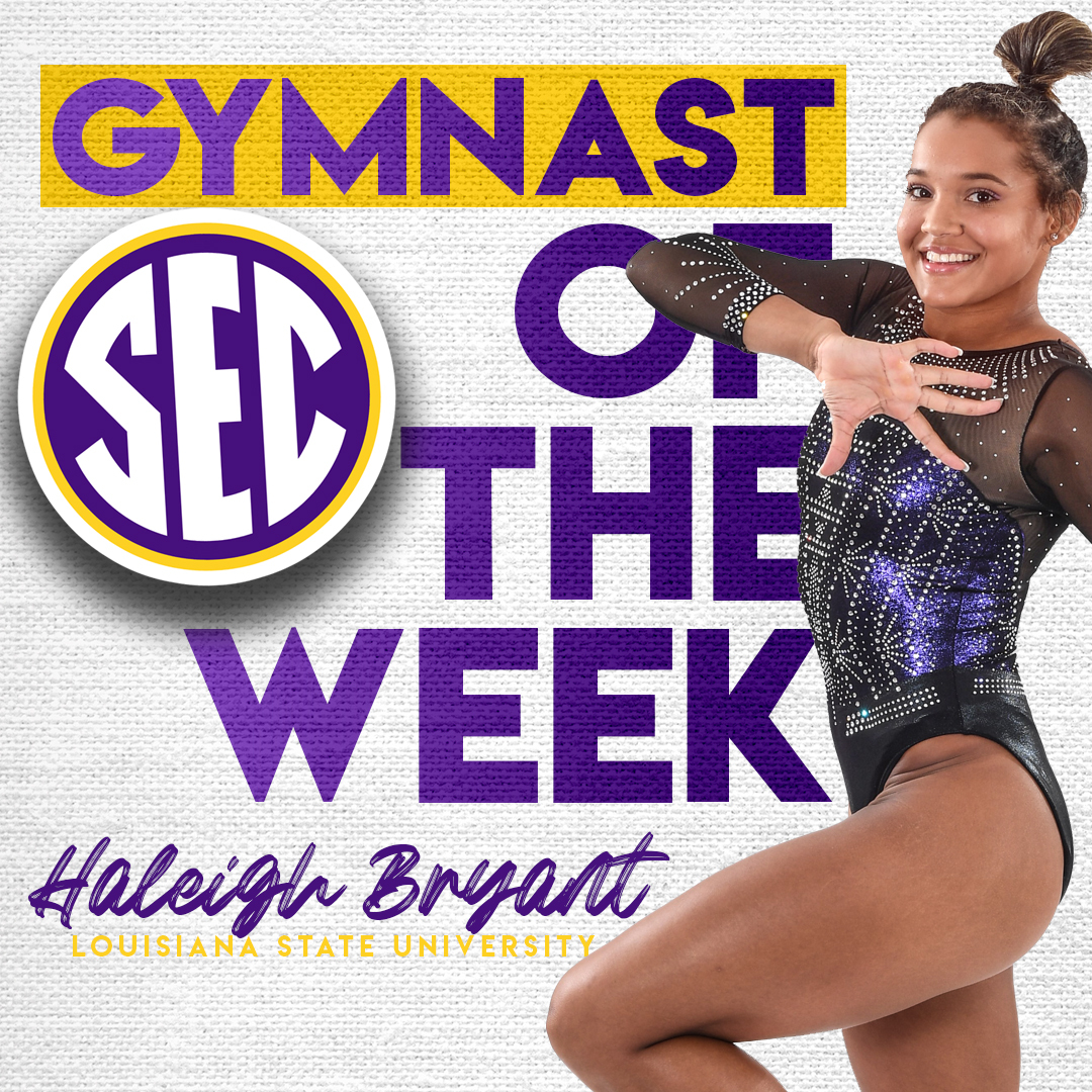#SECGYM Weekly Honors » Week 2 Full release: bit.ly/38UrUbn.
