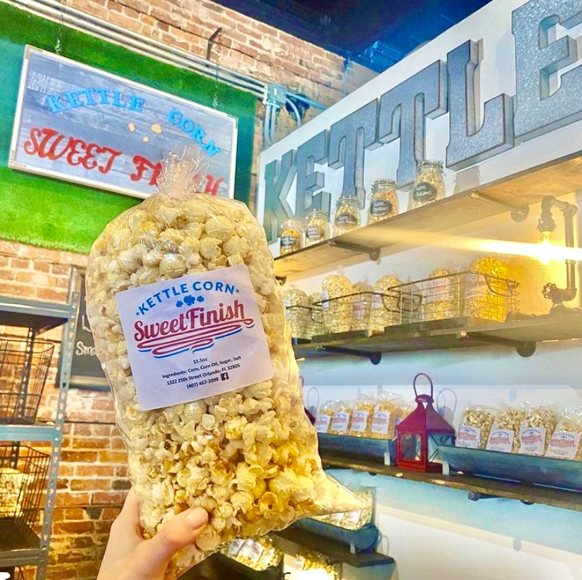 Happy #NationalPopcornDay 🍿  Stop by Sweet Finish Kettle Corn inside The Downtown Exchange or Wiseman's Gourmet Popcorn to satisfy your sweet tooth and celebrate the holiday!  #clermont #kettlecorn