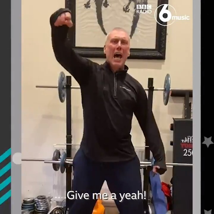 If you need some energy right now, we highly suggest watching this clip ⚡️  The one and only Bez will be joining @ChrisHawkinsUK at 6.40am tomorrow to chat about his new YouTube workout - Get Buzzin' With Bez.