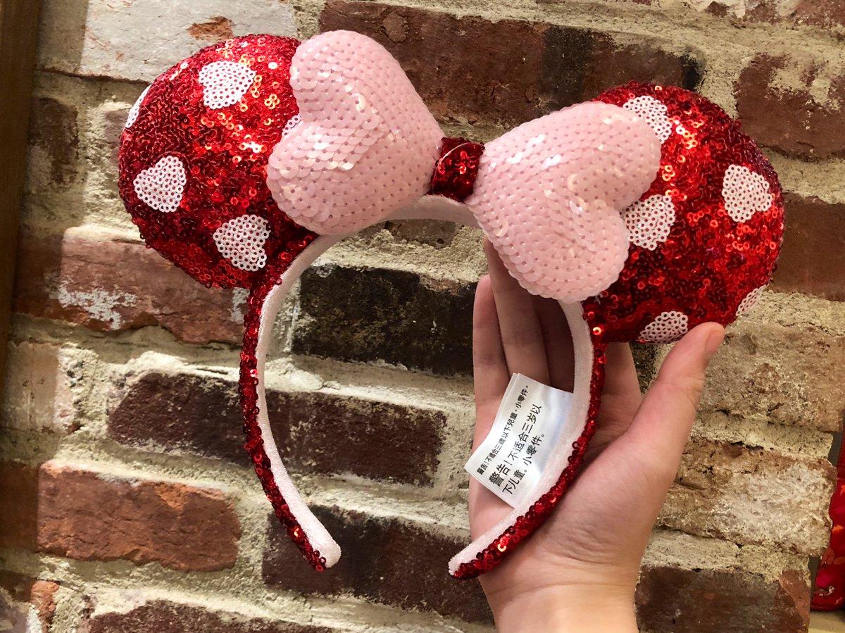 バレンタインのカチューシャがWDWに新登場しましたよ😍 #最新ミミ情報  #ディズニーワールド #ディズニースプリングス  #ワールドオブディズニー #海外ディズニー