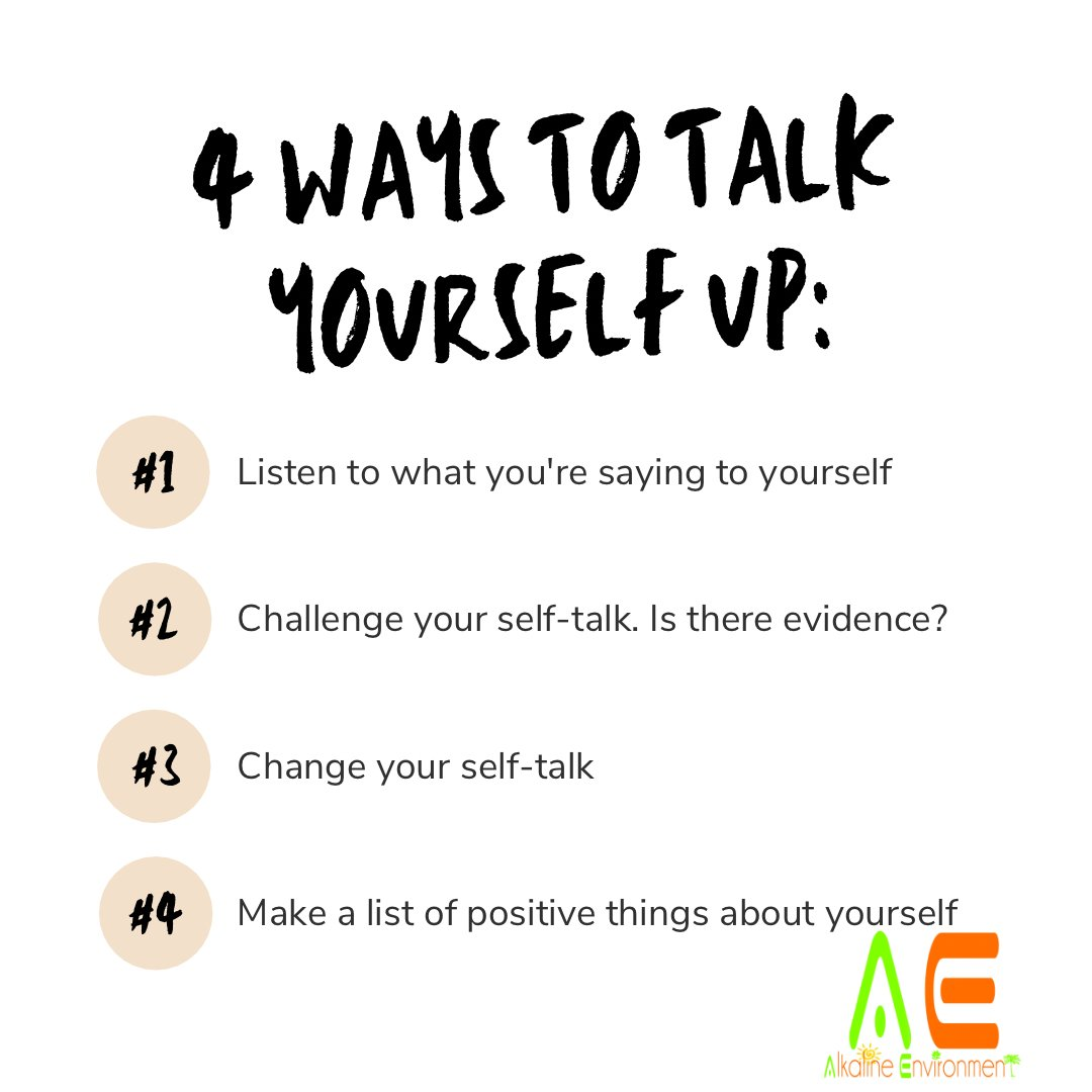 4 ways to talk yourself up: #healthy #fitness #healthylifestyle #healthyfood #health #food #fit #motivation #workout #lifestyle #gym #love #weightloss #instagood