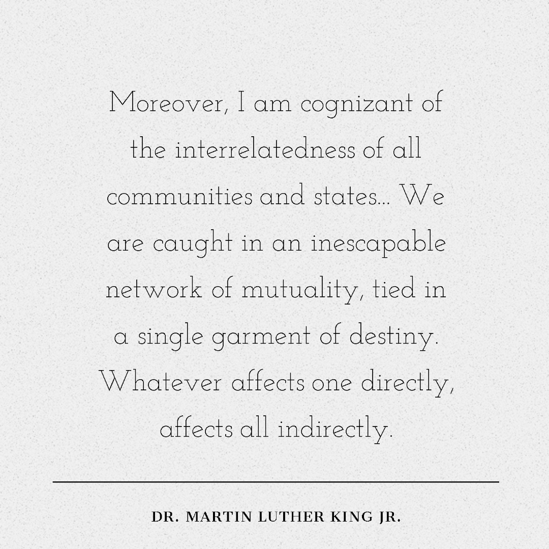 Let us strive to honor to Dr. Martin Luther King Jr.'s memory not just for one day, but every day. May the work we do as a community reflect his legacy, build upon the efforts of all those who came before us, and exemplify a commitment to justice, equality, and human dignity. https://t.co/a9QuCaoaVq