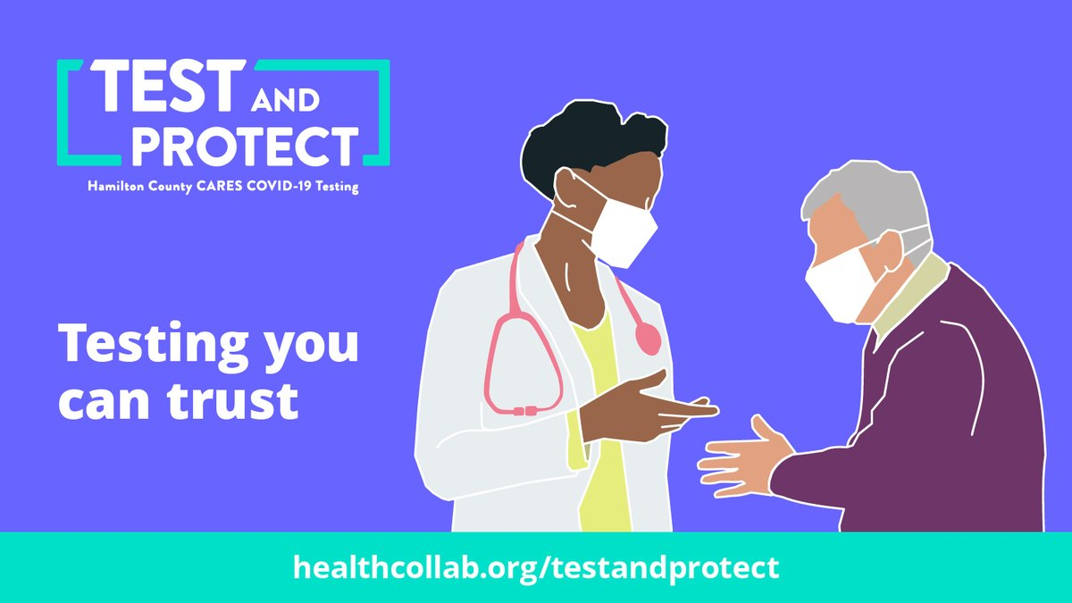 Free COVID-19 testing is available at both our Walnut Hills and Western Hills locations today! Find more information at https://t.co/t3HOR7XfQS  No appointment is needed, but you can save time in line by pre-registering here: https://t.co/QZnvYJ8rsG