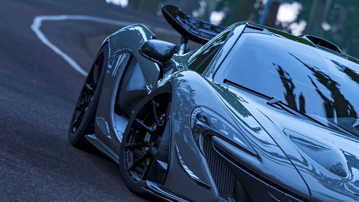 Forza Horizon 4 photo mode is amazing. Taken on Xbox Series X 🖤 #Xbox #Forza   @McLarenF1 @McLarenAuto do you like it?