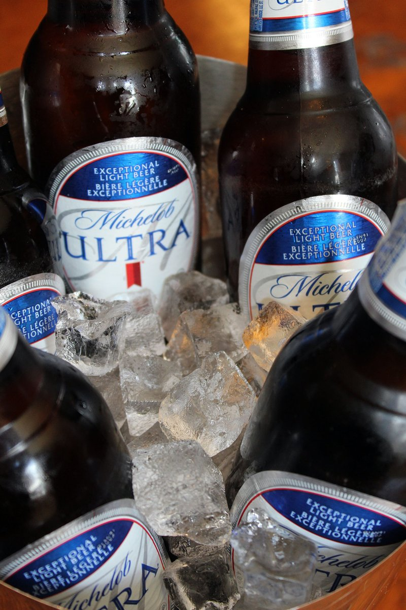 #HappyHour! Every day til 6, Bud Light & Michelob Ultra pints are $6.  And ALL DAY EVERY DAY: Bud Light & Michelob Ultra buckets (5 beers) $19.85! #UptownStJohns
