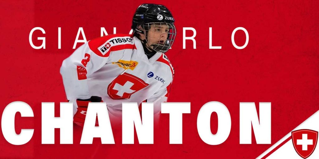 Two weeks ago tonight, the @HC_WJC wrapped up.  @OHLIceDogs defenceman Giancarlo Chanton had a strong showing at the #WorldJuniors for #Switzerland @SwissIceHockey and joined the #NiagaraSportsReport to discuss that, and his career thus far.  Listen here: