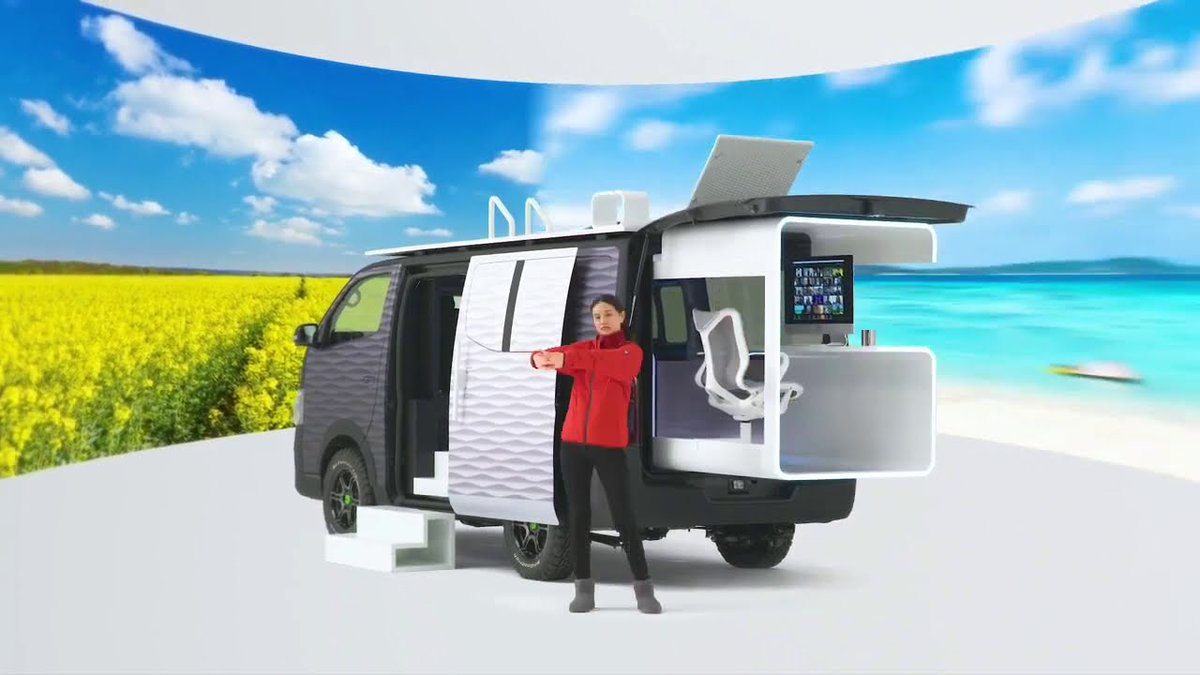 Nissan NV350: La increíble furgoneta camper que te servirá como excusa para no volver a la oficina.    #nissan #furgoneta #camper #camping #nomada #viajar #oficina