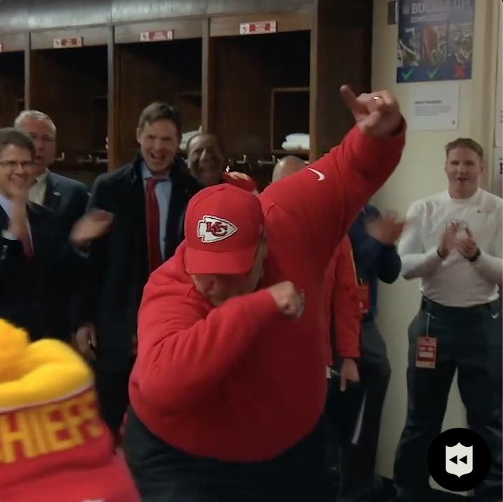 Andy Reid is the best 😂 (via @Chiefs)  📺:#BUFvsKC— Sunday 6:40pm ET on CBS 📱: NFL app // Yahoo Sports app
