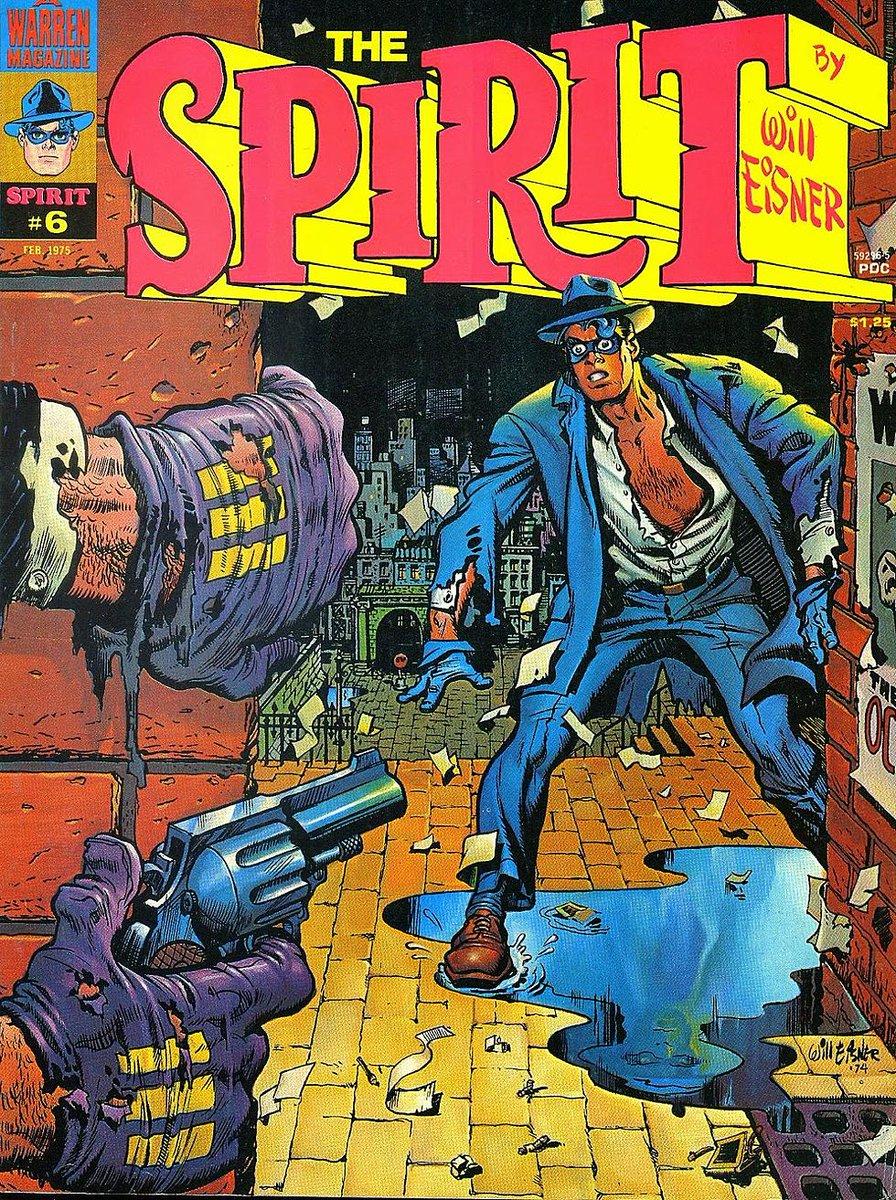 @Loulogio_Pi Agree 100% El maestro de la luz y la sombra. Nadie hacía NADA como Eisner. Lo que me hizo disfrutar de crio con The Spirit no está pagao. #eisner #spirit