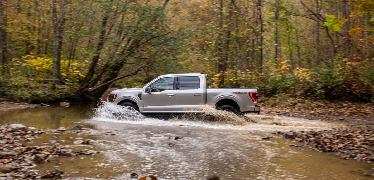The perfect #FordF150 for taking you over the river and through the woods. #Tremor #NTXFord #Ford