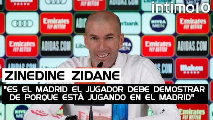 """#RealMadrid 🔥💥 ¡ZIDANE EN CONFERENCIA DE PRENSA!  Zinedine Zidane: 🎙️ Sobre los jugadores cedidos como Jovic, Reguilón y Achraf:   """"Lo fácil es decir que la culpa la tiene el técnico"""" """"Es el Madrid, el jugador debe demostrar de porque está jugando en el Madrid""""  Parte 1"""