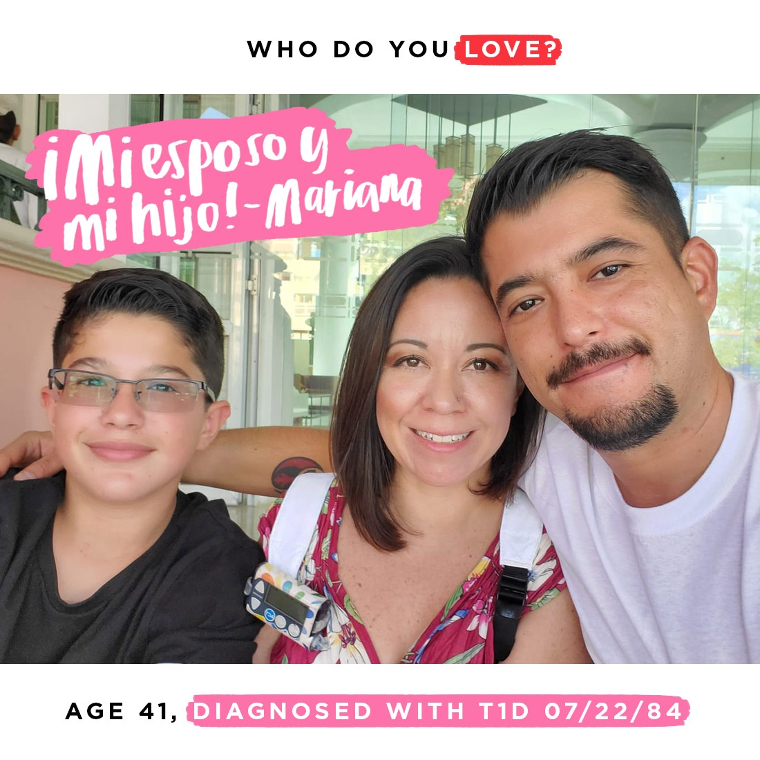 Diabetes isn't something we can do w/o the help of those we love. Today is your last chance to tell us who is the person (or people) that makes living with diabetes easier through our #WhoDoYouLove campaign!  For more details + instructions, visit:
