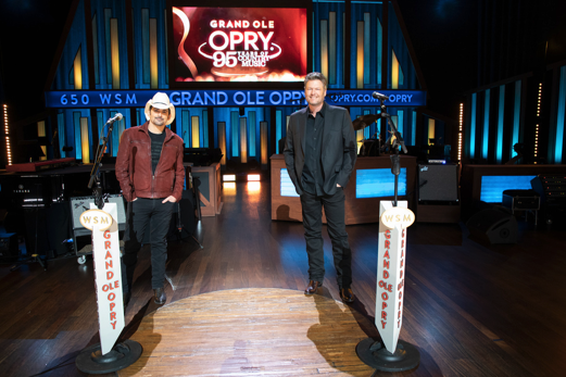 "Grand Ole Opry members @BradPaisley and @blakeshelton will be co-hosting ""Grand Ole Opry: 95 Years of Country Music"" on @nbc!  The two-hour special is set to air Sunday, February 14th at 9 p.m. ET/PT on @nbc!"