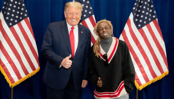 Tapdancing Tunechi: President Trump To Pardon Lil Wayne & Maybe More Rappers https://t.co/YYZ3F7w0JT https://t.co/PelWaebza7