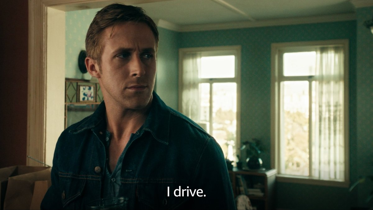 Ryan Gosling would never let you drive alone past his street.