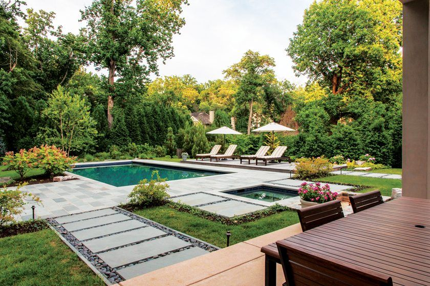 Wanna visualize how your backyard, garden, swimming pool would look like? Contact Me:   #villa #landscape #farmhouse #tuesdayvibe #frontyard #house #SeasonsOfTrump