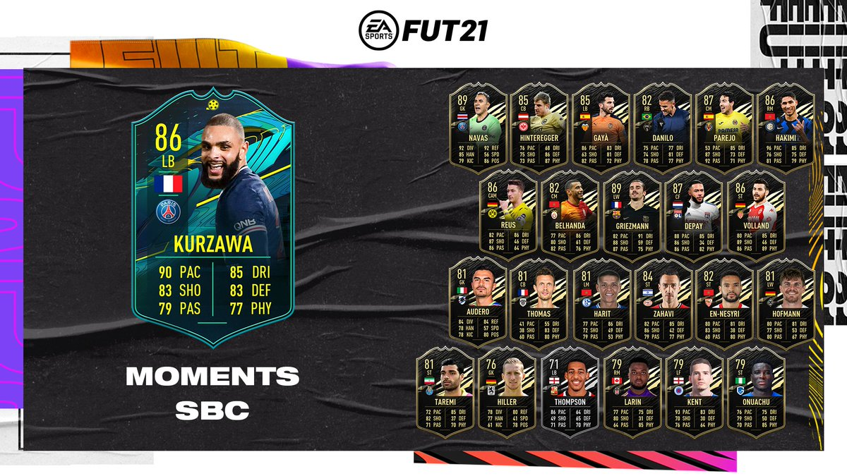 That acrobatic goal, though 👀  A new Player Moments Squad Building Challenge is available in #FUT now. #FIFA21