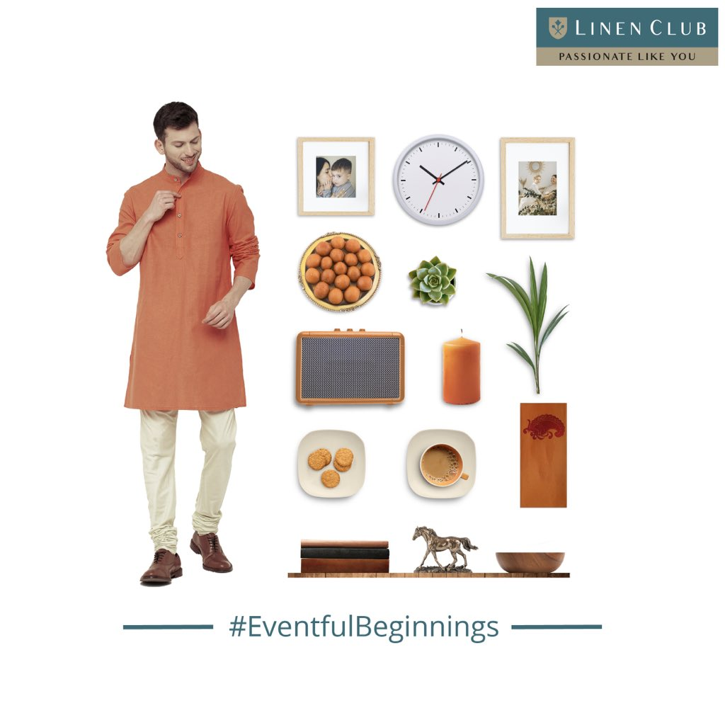 Visit your loved ones in a simple and timeless ethnic kurta from Linen Club. Meet people who missed your presence. Walk-in to the store now at   #EventfulBeginnings #Freshstart  #GoodStart #2021 #Newyear #LinenLifestyle #LinenClub