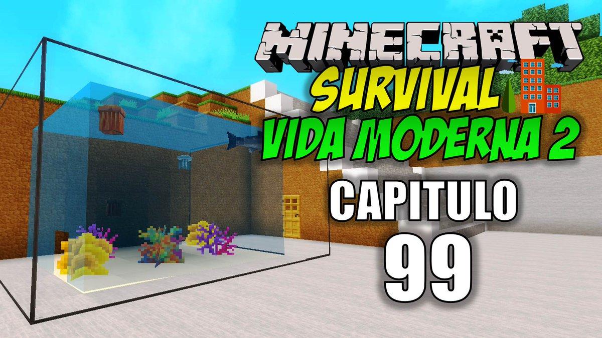 Minecraft: Vida Moderna 2, Capitulo 99, Un acuario en el Zoológico. 🐟  #Minecraft #Youtube #Gameplay #Serie #VidaModerna2