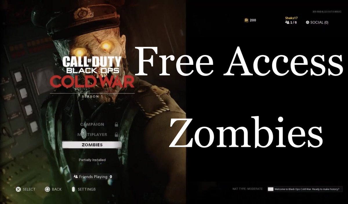 Free Access Week for Zombie Mode in Call of Duty Black Ops Cold War, lets play!!!  #game #gaming #youtube #CallofDuty #CallOfDutyBlackOpsColdWar #zombies #free #freetoplay #ps4 #ps5 #xbox #pc #activision #treyarch #cod #gameplay #letsplay