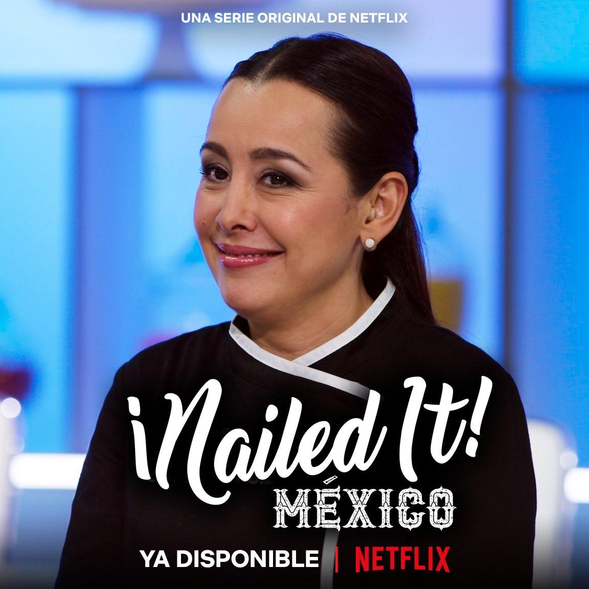 🧁🍰 En #NailedItMexico nada es... ni se parece a la realidad 🤭  📺 Ya está disponible la #TerceraTemporada disfrútala solo por @NetflixLAT https://t.co/Ytx7b2Z6OL