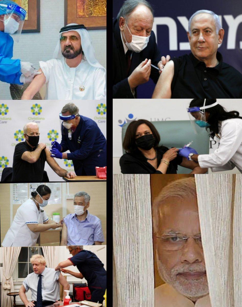 @aajtak @sardanarohit @p_ghildial #Repost #CoronavirusVaccine #India