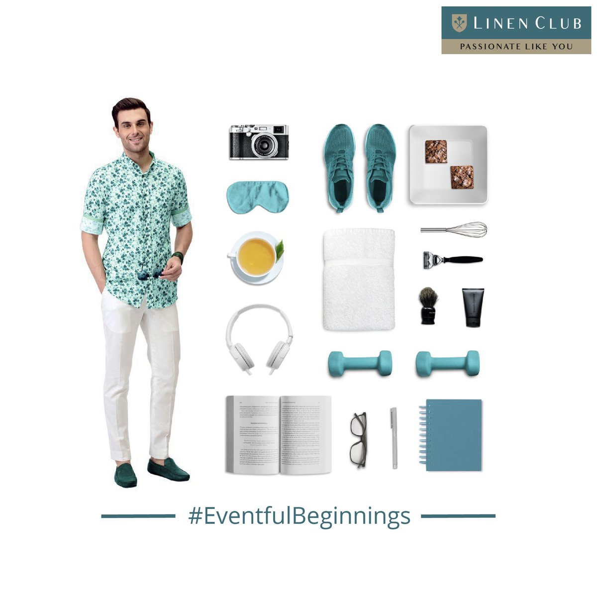 Pick a look from the widest Linen Club collection that truly reflects you, there's nothing to stop you from following your passion. The nearest Linen Club store awaits you.  #EventfulBeginnings #Freshstart  #GoodStart #2021 #Newyear #LinenLifestyle #LinenClub