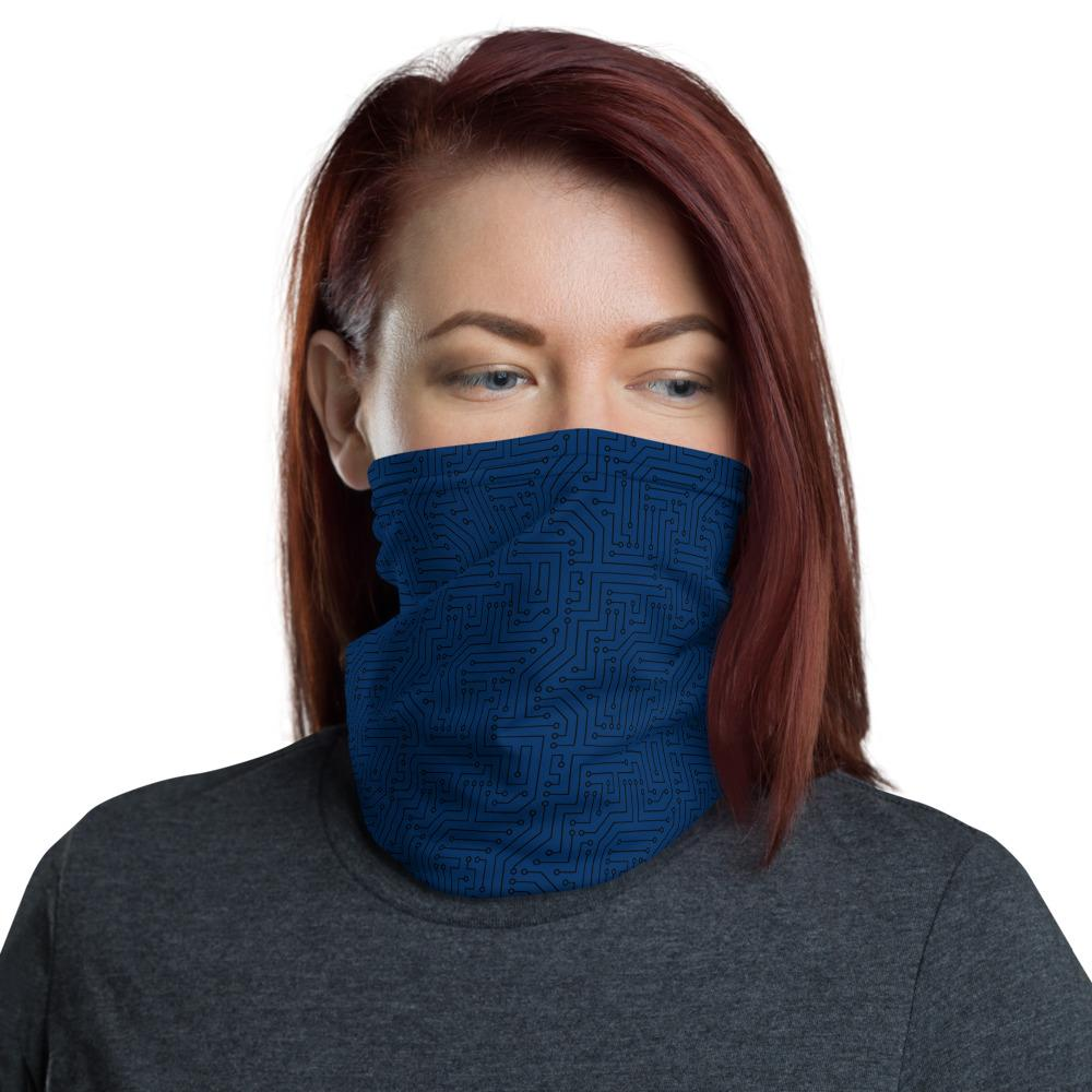 😍Check this out from #AmericanBogan 😍 » American Bogan Blue With Texture Print All Over Print Neck Gaiter » $20.00! #Buy it now 👉   #SmallBiz #DailyPost #Fashion