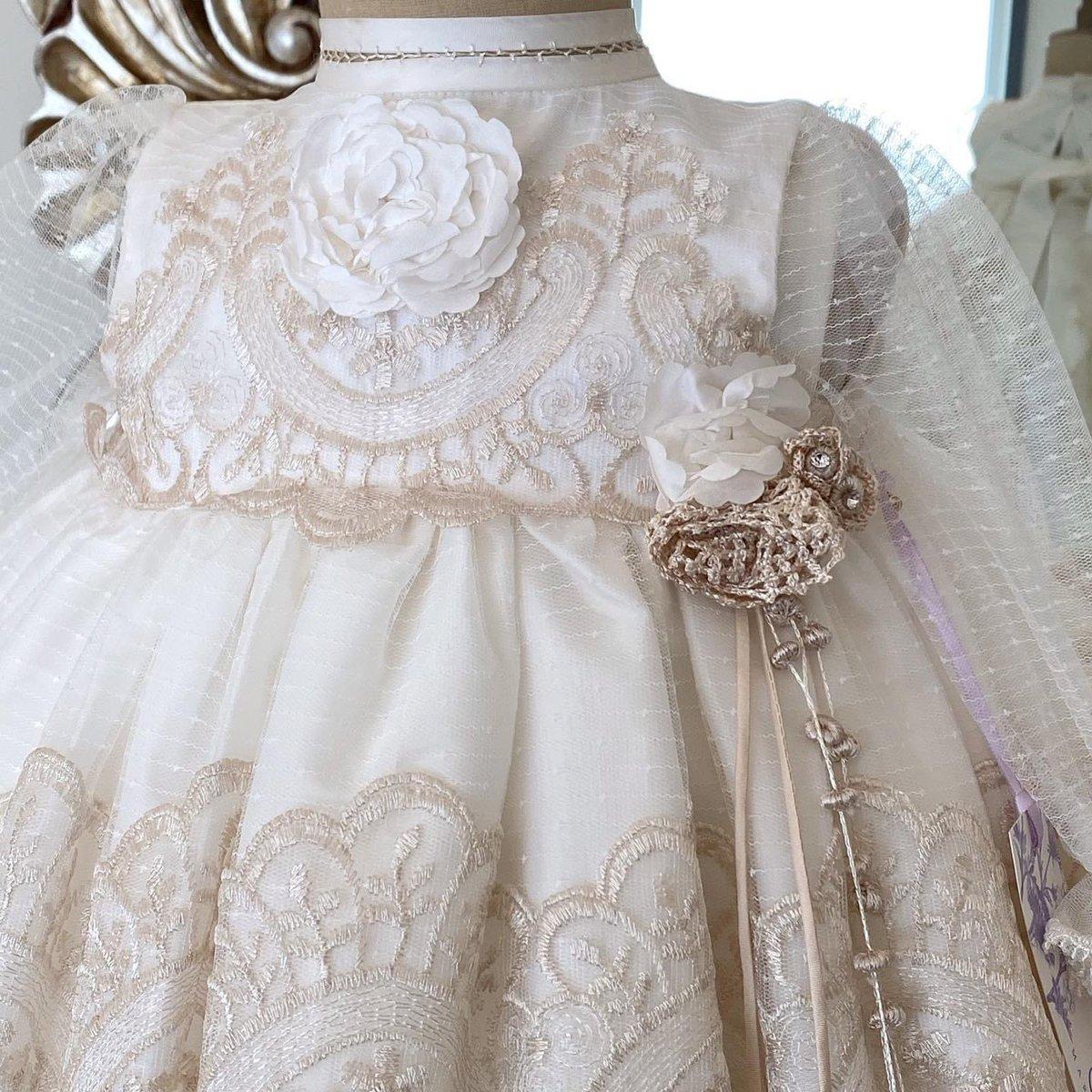 Dulzura y Elegancia 🤍 . . . #MariaEdgarAtelier #luxury #babydress #baptismgown #ropon #babylove #babyoutfit #babygirl #bebemoderno #baby #madeinmexico  @ Tampico-Madero