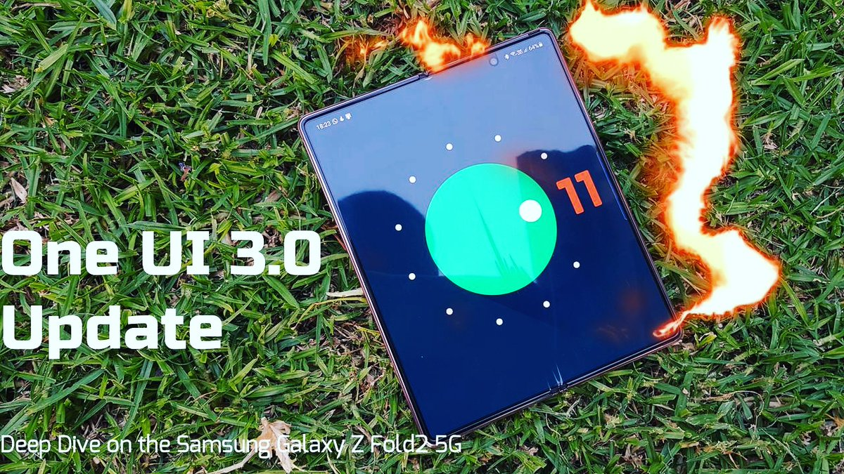 New Video Alert 📢 on my YouTube channel!  On this one I dive deep on to the Android 11 One UI 3.0 update on the Samsung Galaxy Z Fold2 5G  Video link:   #Android11 #Samsung #GalaxyZFold2 #OneUI3.0