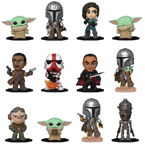 If you want the entire base set of the Mando Mystery Minis, be sure to buy a case to rule out the randomness ~ Linky ~  #Ad #FPN #FunkoPOPNews #Funko #POP #POPVinyl #FunkoPOP #FunkoPOPs #MandoMondays #TheMandalorian #Mandalorian #Mando #TheChild #Grogu