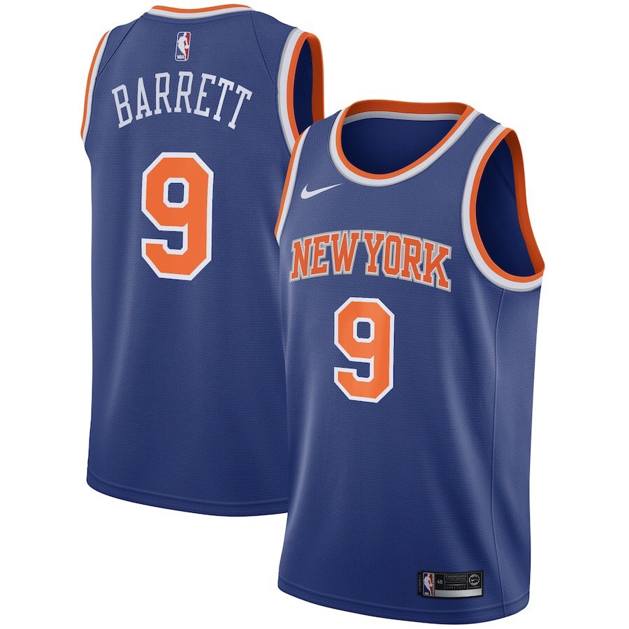 🚨 GIVEAWAY SZN 🚨  Rules are simple.  1) MUST be following @TheKnicksWall   2) Must RT & like this tweet  3) Reply/quote with your jersey size and the player you want for a chance to win.   Will be giving away TWO (2) jerseys.  Will announce winner next Tuesday night at 8PM. https://t.co/2OMO2NaoaE