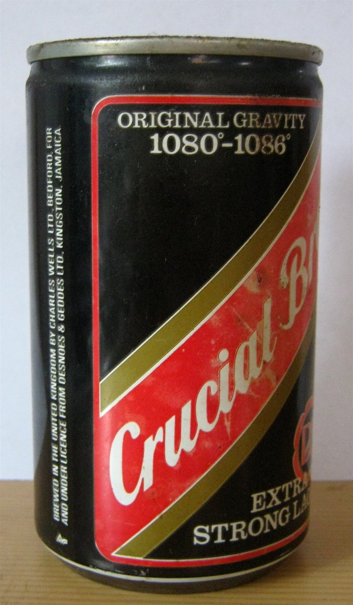 Number 5 Red Stripe Crucial Brew Bring it back.