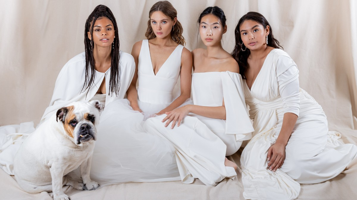 Fashionista - Houghton Designer Katharine Polk Launches a Size-Inclusive Cool Bride Wedding Dress Line  #fashion