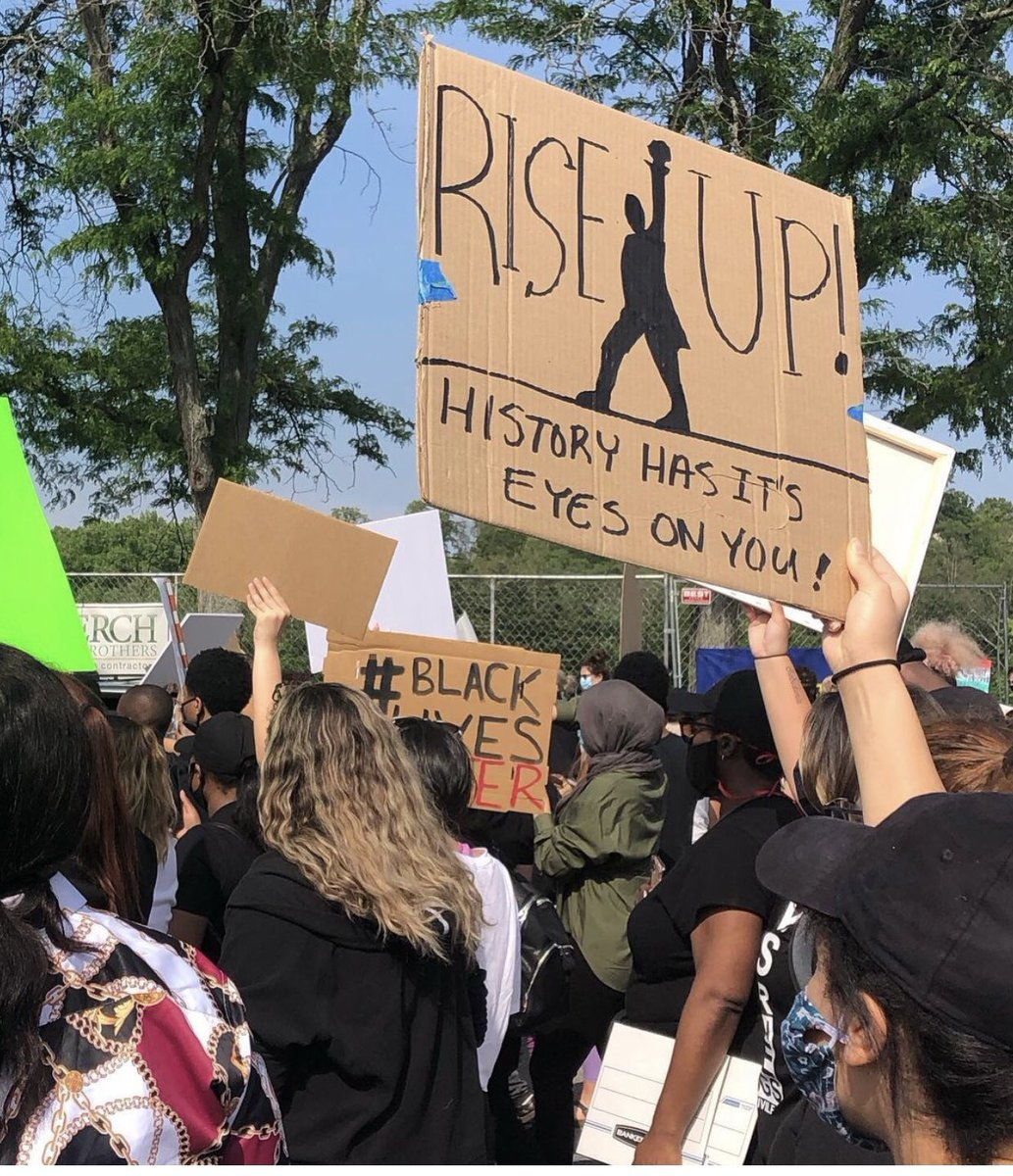 #BLM protest in Columbia MD summer 2020 #BlackLivesMatter #BidenHarrisInauguration