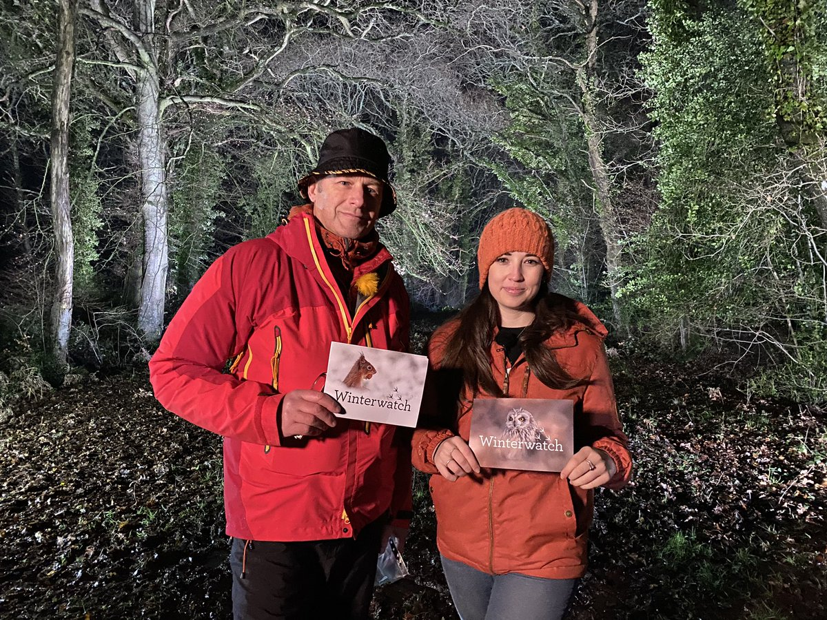 WinterWatch 2021! 🦊❄️ Join us over the next two weeks on @BBCTwo at 8pm for some much needed wildlife magic. See you soon!  @BBCSpringwatch @gillians_voice @IoloWilliams2 @ChrisGPackham