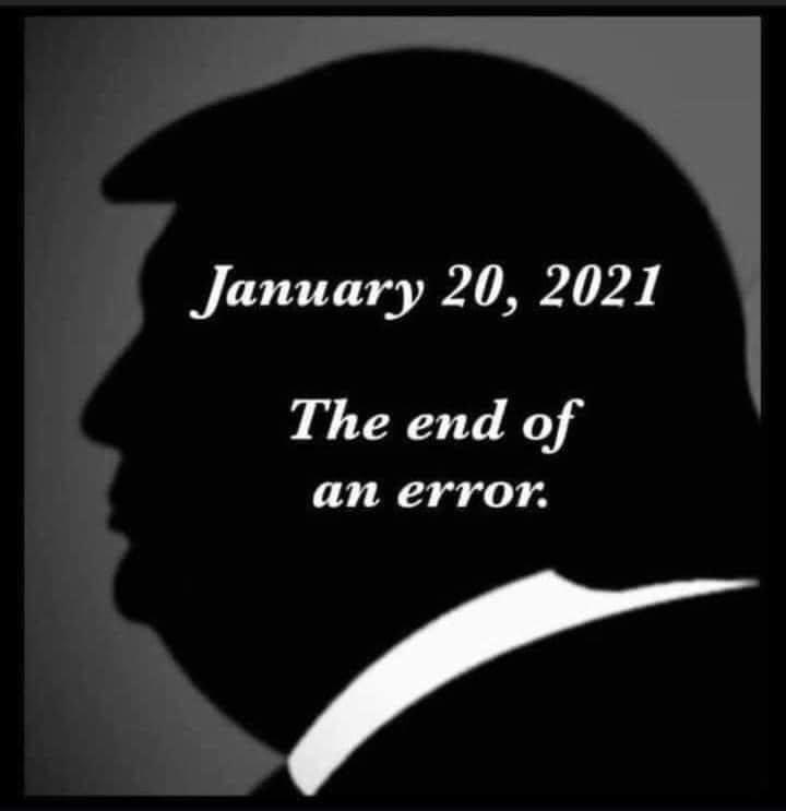 Whoo hoo!! 🥳 #TrumpsLastDay