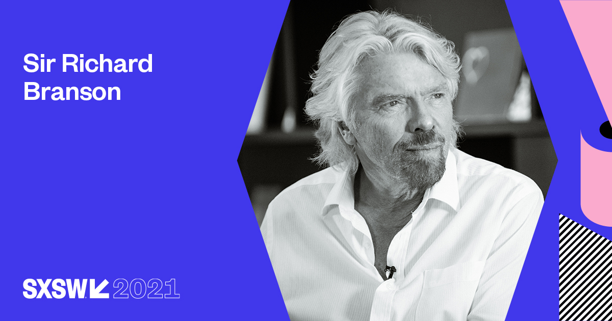 Since starting youth culture magazine Student aged 15, @richardbranson has found entrepreneurial ways to drive positive change in the world. Don't miss the entrepreneur and Virgin Group founder at #SXSW Online! https://t.co/eXBKFcDRtq https://t.co/8OgPsFKbcK
