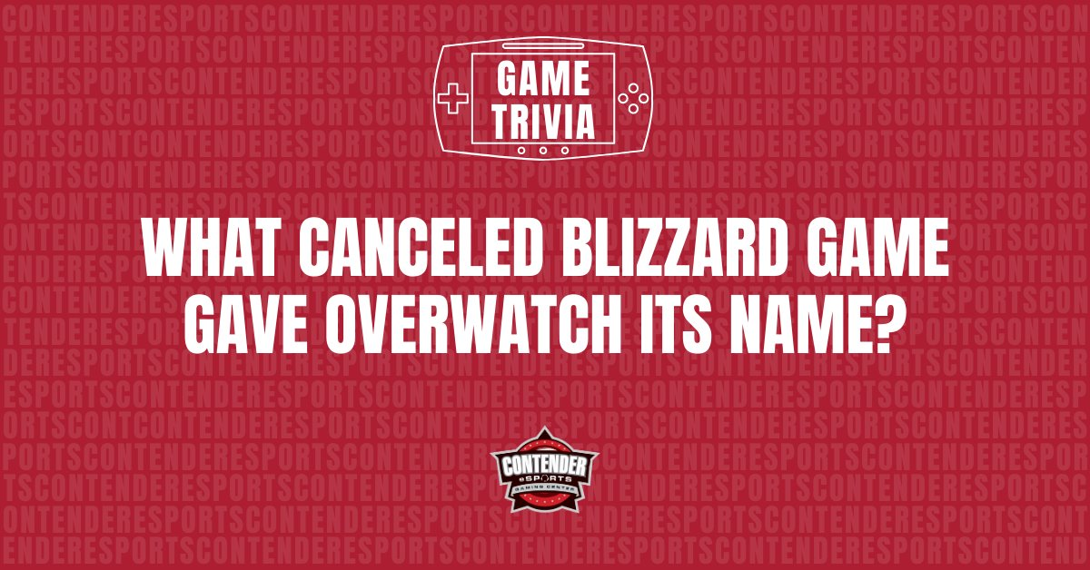 #TriviaTuesdays  What canceled Blizzard game gave #overwatch its name?  #esports #gamer #videogames #tuesdayvibe