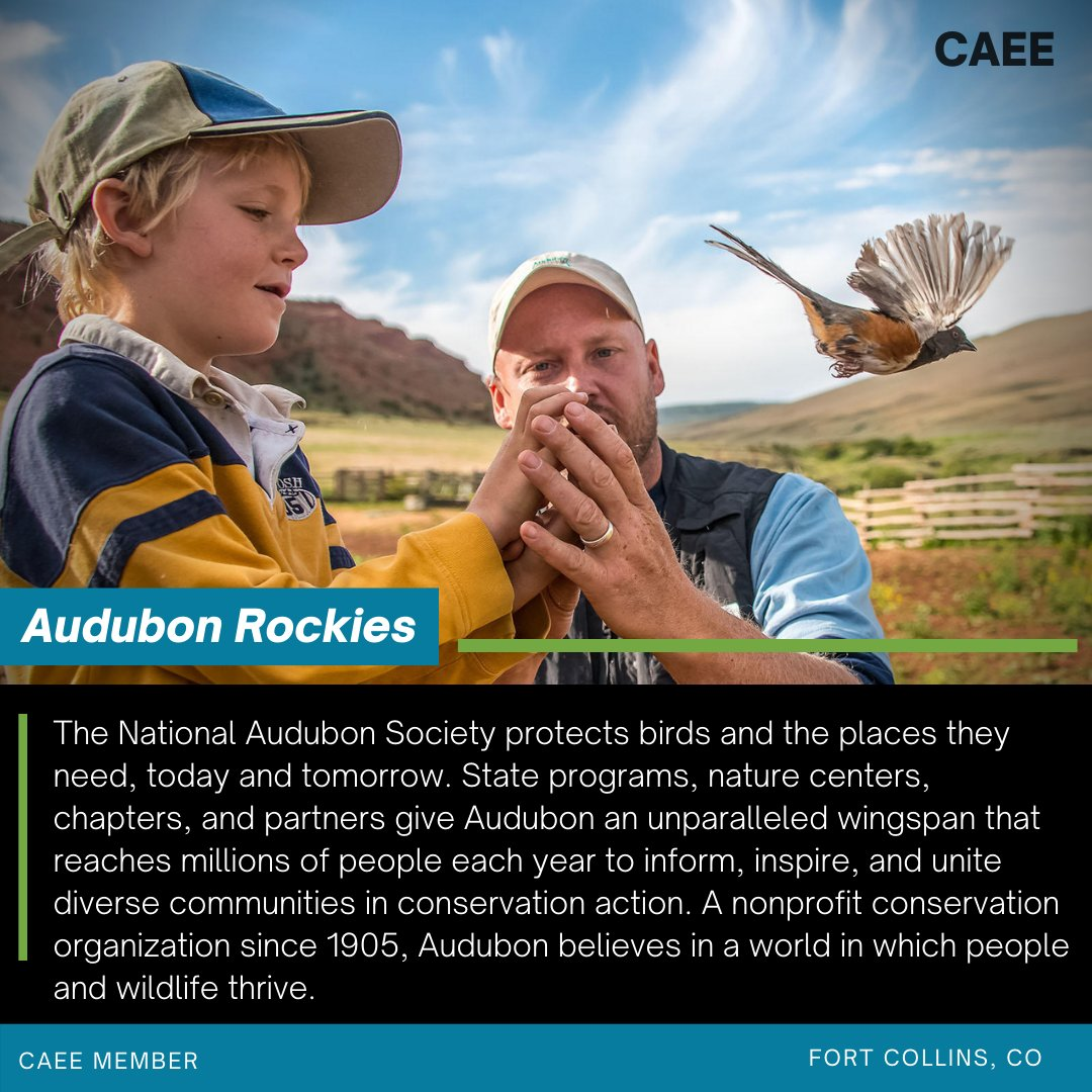 One of our awesome Members! @audubonsociety thanks for helping #inspirechange.