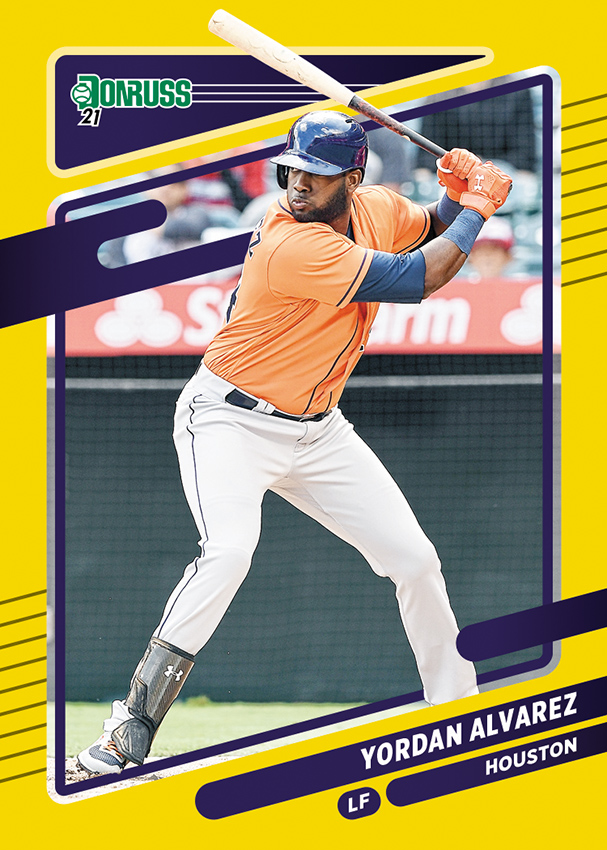 .@PaniniAmerica delivers a detailed sneak peek at the flagship 2021 Donruss @MLB_PLAYERS Baseball.  #WhoDoYouCollect | #MLBPA