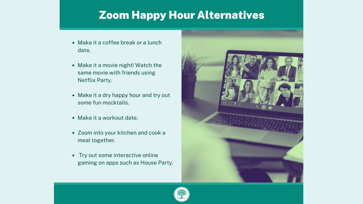 #TipTuesday Looking to find ways to participate in an alcohol-free #happyhour? Check out these six sober friendly alternatives by @UMichHR