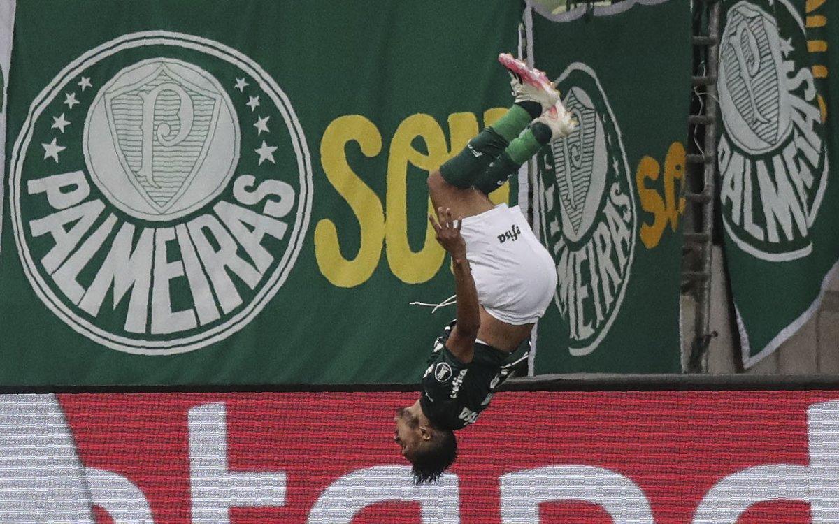 🔥 ¡Los 3 goles en 5 minutos que hizo @Palmeiras! Fue en el 5-0 ante #Bolívar por la Fase de Grupos de la #Libertadores 2020.  🔝 Uno de los grandes momentos de uno de los finalistas de la Copa.