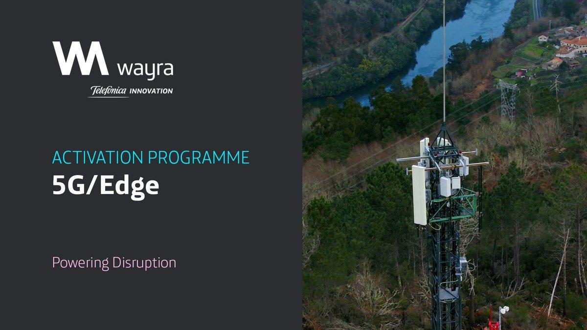 🚀 Innovación en colaboración con el emprendimiento  Abrimos a las startups nuestra red #5G y el #EdgeComputing para desarrollar nuevos servicios   @wayra #WeAreWayra