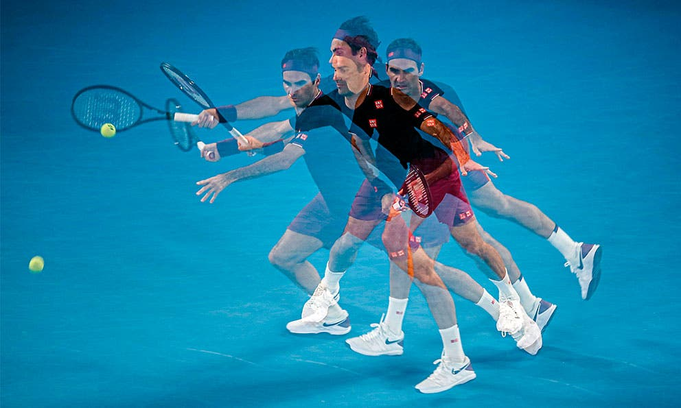 Federer sorprende dentro y fuera del terreno de juego   Los detalles: https://t.co/AUzUde27tU #Federer #Tennis #ATP https://t.co/QmPDf33xiz