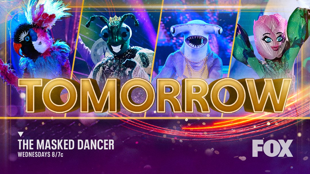 Group A is back on #TheMaskedDancer stage 🎭! Don't miss the @MaskedDancerFOX TOMORROW at 8/7c before #NameThatTune on @FOXTV ‼️