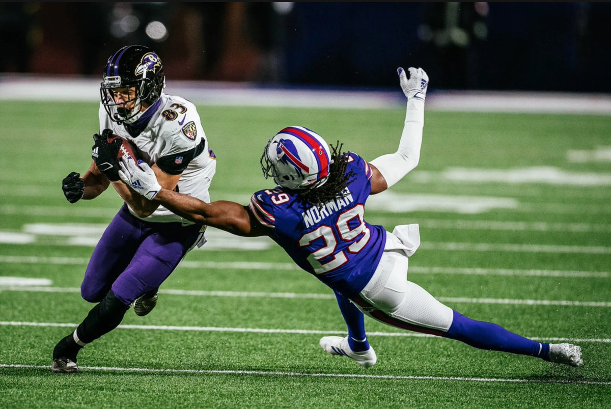 The Baltimore @Ravens' Super Bowl dreams end on a windy field in Buffalo.   Story by @cribbs_arthur:    Courtesy Photo #Ravens #RavensFlock #BALvsBUF #SuperBowlLV #Bills #BillsMafia #NFLPlayoffs @meach_33