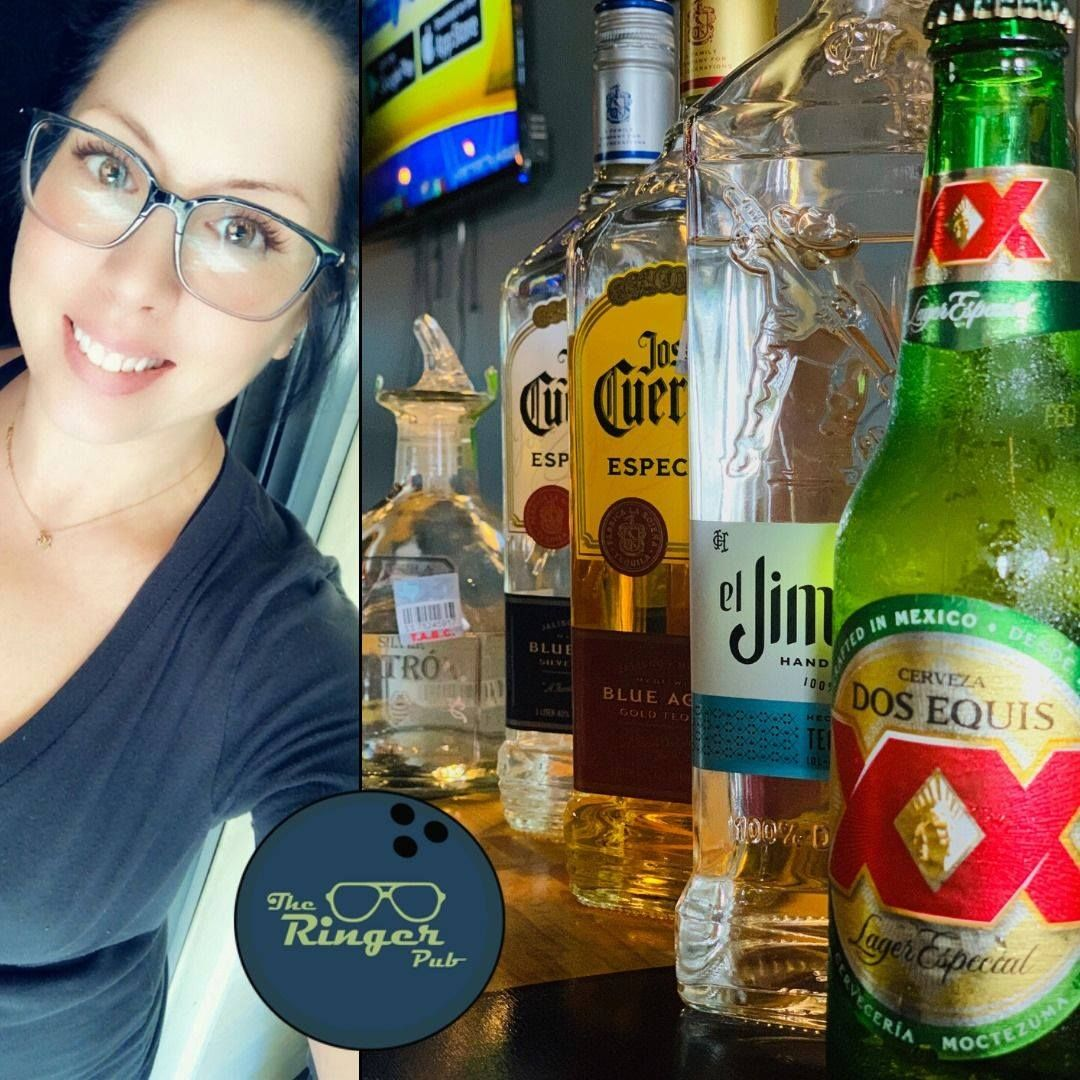 Tequila Tuesday! It's that kind of week already! Tequila specials all day, with Dos XX deals too! Erin is here for the Happiest of Hours, then we have Kei pouring your favorite boozy delights tonight starting at 8! Food available, open at 2PM!  #theringerpub #happyhour