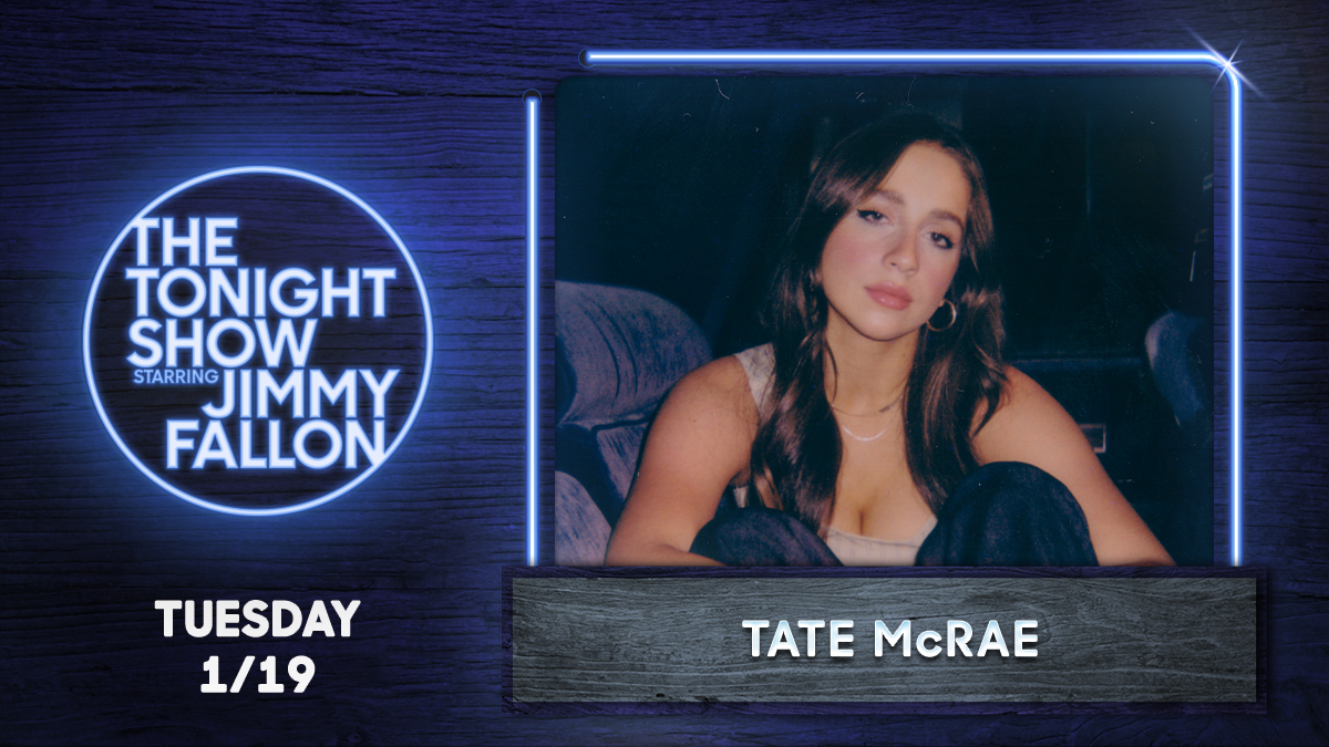 ⭐⭐TUNE THE HELL IN TO OUR GIRL @tatemcrae PERFORMING TONIGHT ON @fallontonight!!!⭐⭐